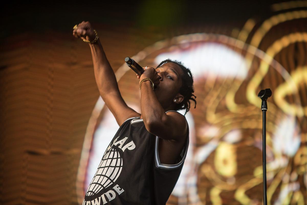 A$AP Rocky at Lovebox festival