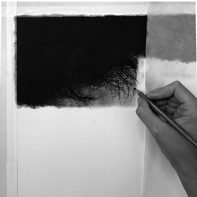 New beginnings....this work will be very different piece from my past works. It is not a commission, but a personal statement. Combining hyperrealism and surrealism to create the sweet spot that will encompass my artistic voice as well as all of the works of that will be my in my first show. Excited is an understatement 😎🎉 . . #charcoaldrawing #charcoaldrawings #photorealismdrawing #photorealistic #graphitedrawings #pencildrawingart #modernartwork #contemporaryartist