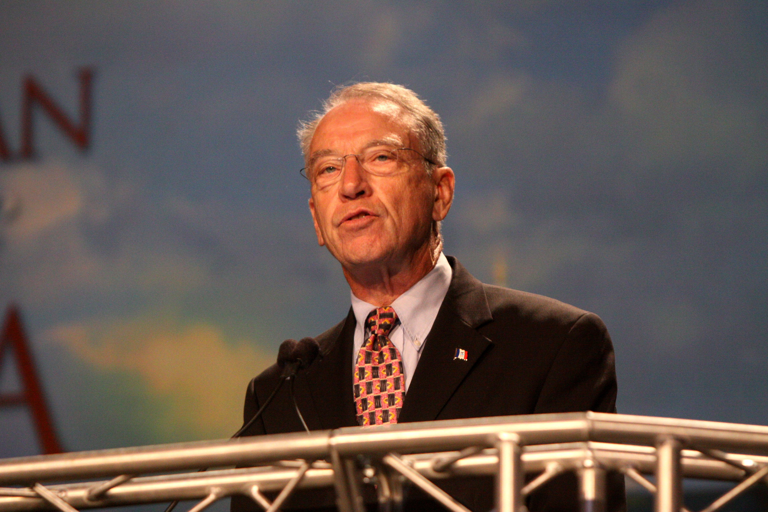 """SEN. CHUCK GRASSLEY (R-IA) - """"Effective federal, state and local election infrastructure must be in place to detect, deter, prevent, investigate and punish foreign adversaries for seeking to peddle influence in U.S. elections."""""""
