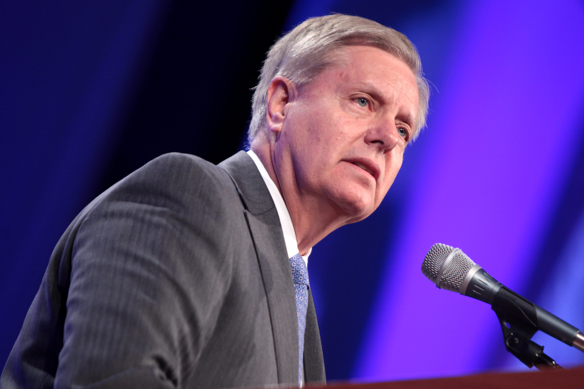 "SEN. LINDSEY GRAHAM (R-SC) - ""Foreign interference in U.S. elections – whether Russia in the 2016 presidential election or another rogue actor in the future – poses a direct threat to our democracy."""