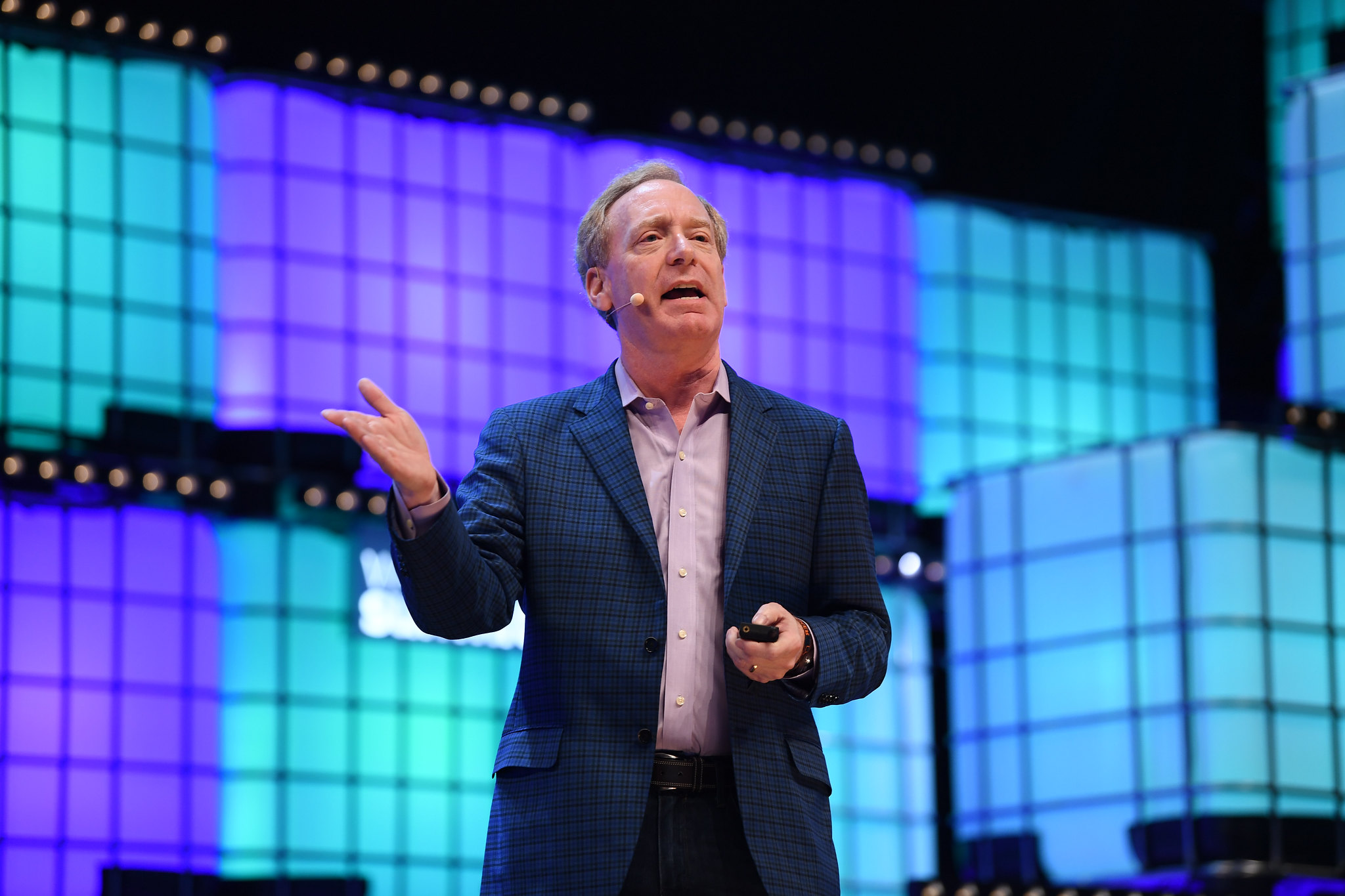 """Microsoft President Brad Smith - """"We can only keep our democratic societies secure if candidates can run campaigns and voters can go to the polls untainted by foreign cyberattacks."""""""