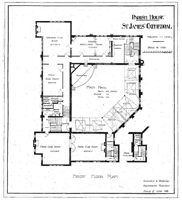 Parish House, First Floor