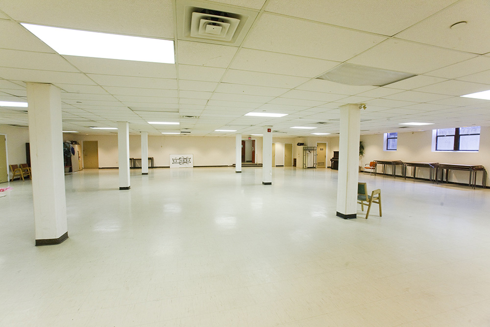 Parish House Dining Hall where Community Room is currently located.