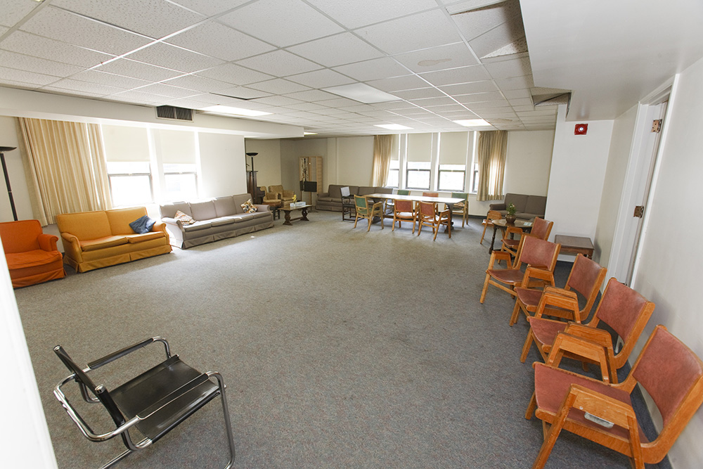 Parish House Meeting Room where Lecture Room is currently located.