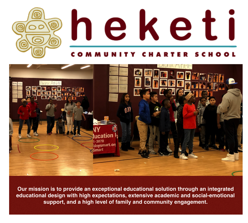 Thanks Heketi Community Charter for Hosting a Fun & Fit Pop-up
