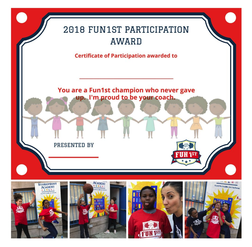 Congratulations to Fun1st's Storefront Academy Class of 2018