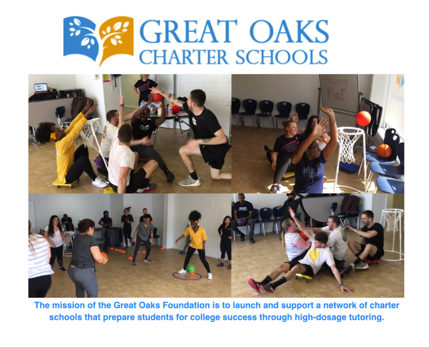 """Shout Out to Great Oaks Community Charter For a Fun """"PD"""" Day"""
