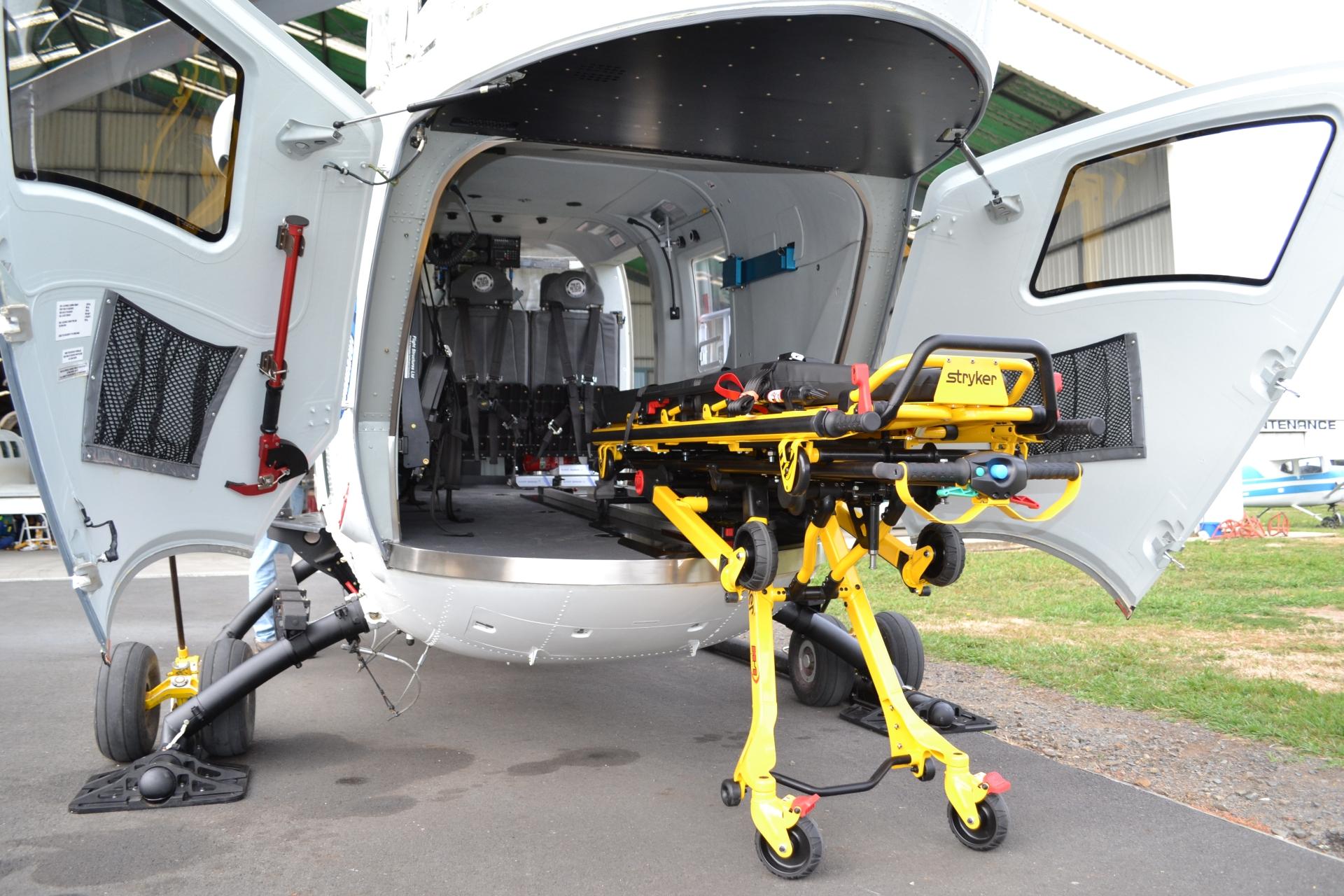 EMS - Stryker - Rear loading from trolley.JPG