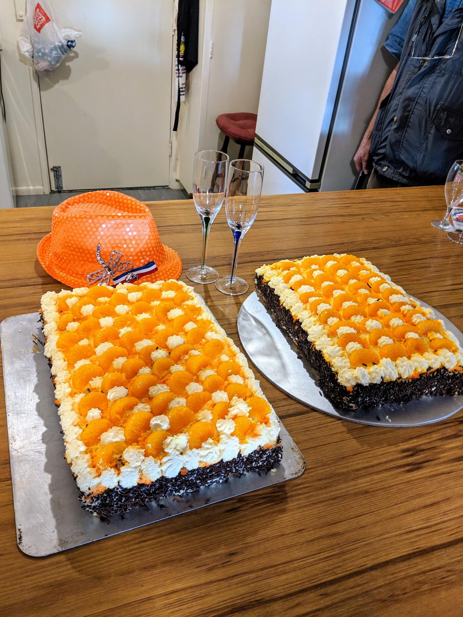 Kingsday-orange-cake