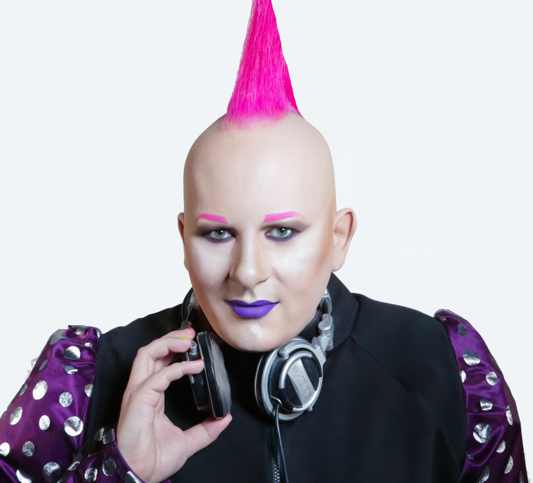 """DJ Rockstar Aaron """"Nightclub / Purple"""" themed"""