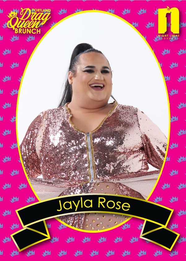 JAYLA ROSE - A gymnast and dancer for as long as she can remember, Jayla Rose has toured throughout North America with on and off Broadway shows. She's been featured on America's Got Talent along with the Caravan of GLAM and has been scouted by America's Best Dance Crew. Jayla has performed in 40 of the 50 States.Jayla is known as our tumbling Queen! Don't be surprised if you see her doing backhand springs, layouts, aerials, and more all in 6-inch high heels.