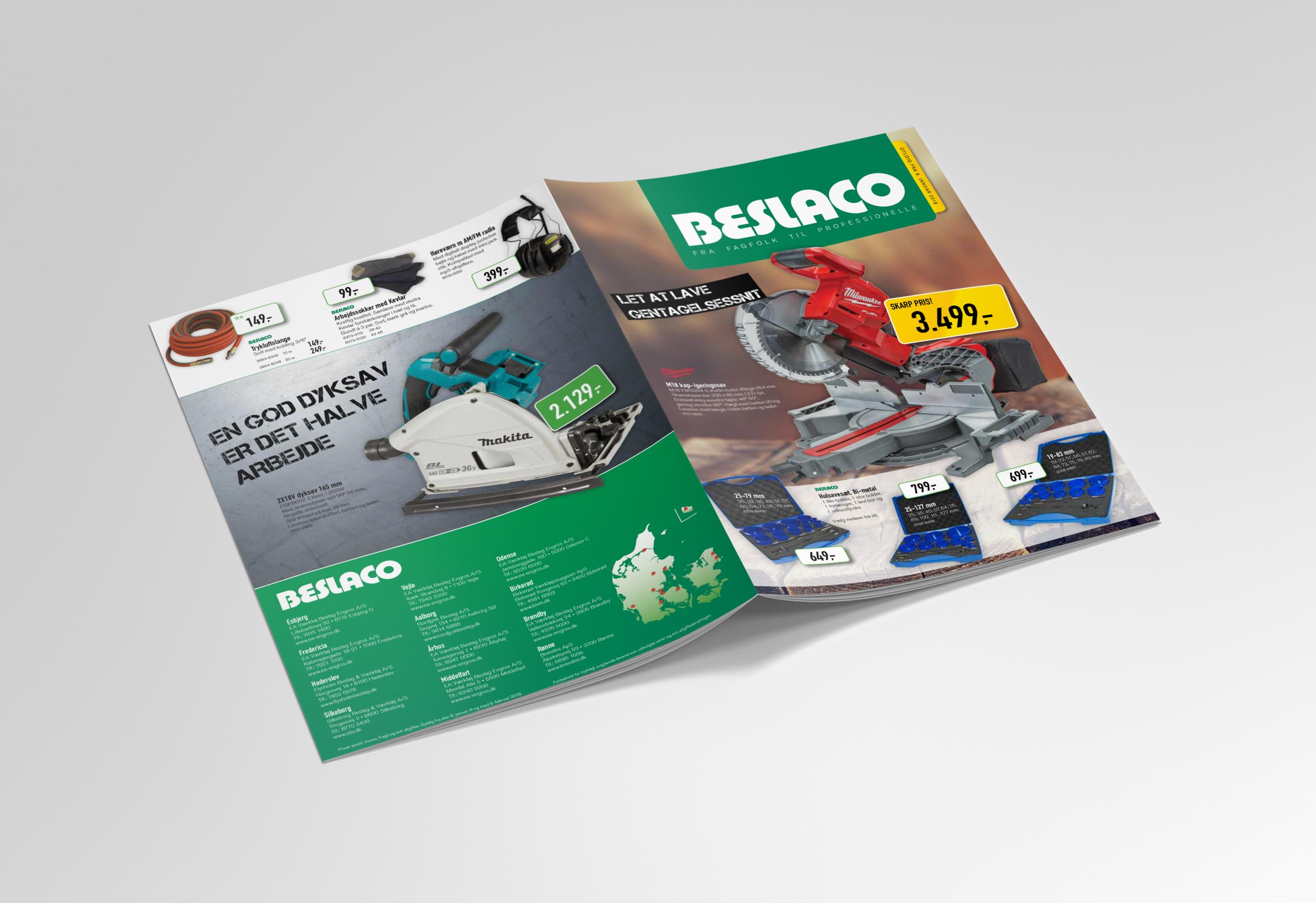 24-siders avis for BESLACO-kæden – udkommer 6 gange årligt