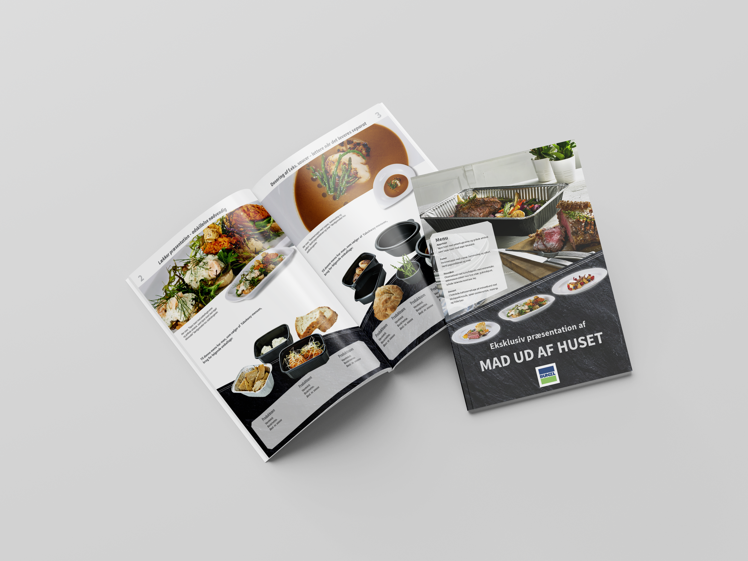 8-siders brochure for BUNZL