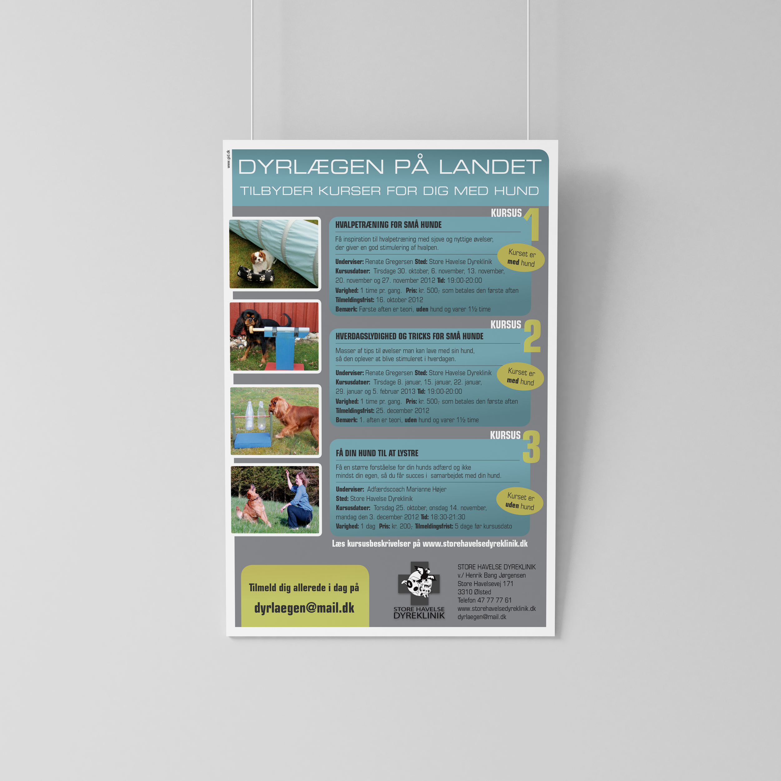 Plakat for STORE HAVELSE DYREKLINIK
