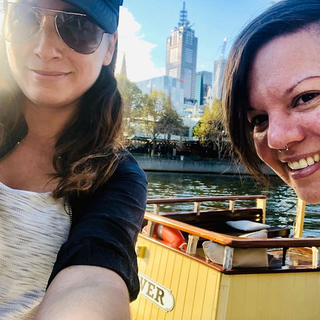 Ahoy, from Melbourne's oldest commercial river boat (or something)☀️⚓️❤️