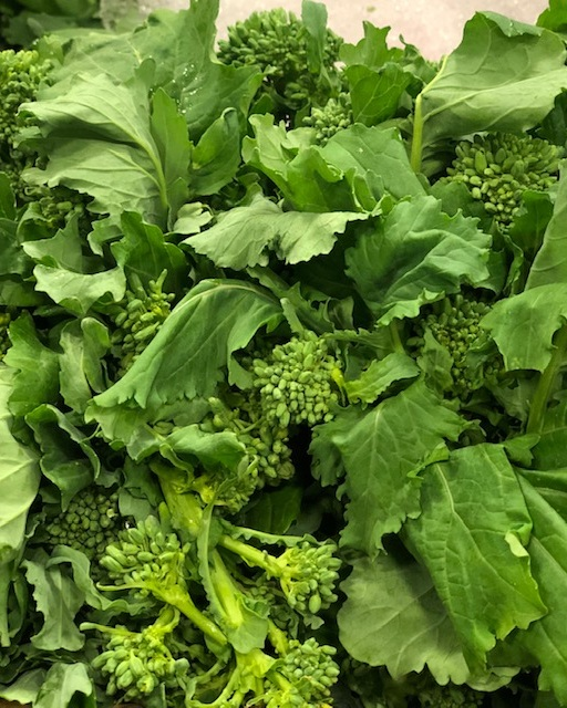 broccoli rabe - Locally Grown