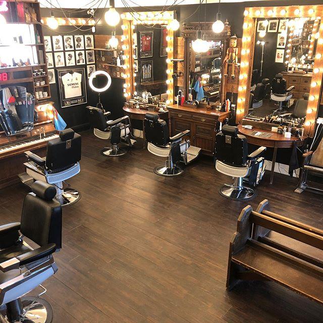 Our new look #coventry #shop #barbershop #barberinterior #barberlife #barbergang #interiordesign #retaildesign #design #barber_soul