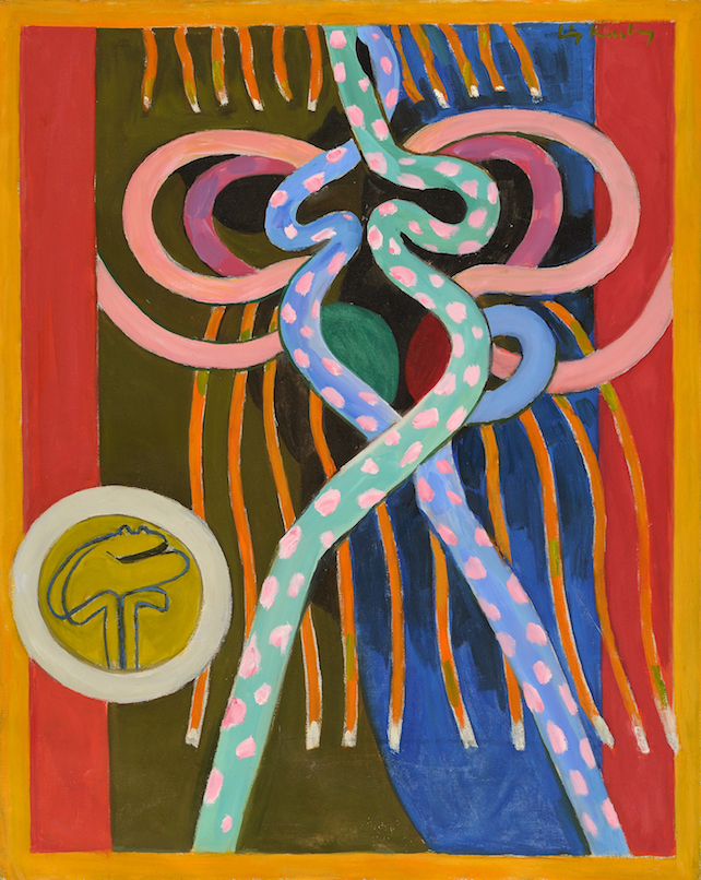 First Sight , 1971, oil on canvas, 30 x 24 in. (76.2 x 61 cm)