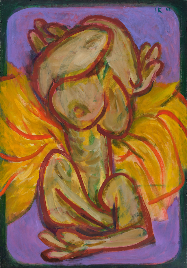 Reversible Woman , 1946, oil on canvas, 36 x 25 in. (91.4 x 63.5 cm)