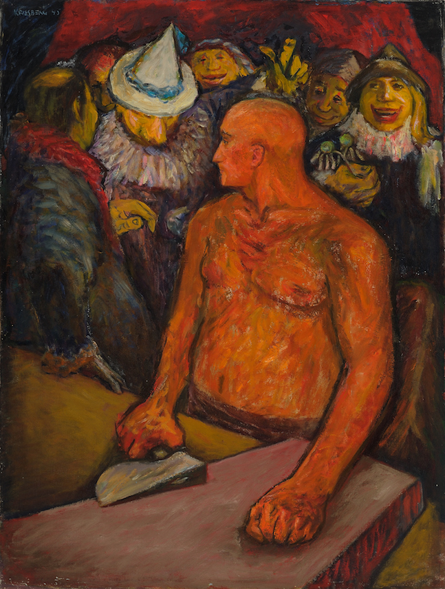 Noah , 1945, oil on canvas, 40 x 30 in. (101.6 x 76.2 cm)