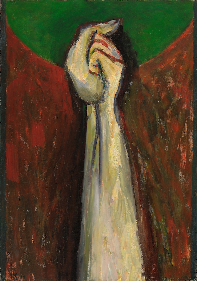 Arm of the Prophet , 1946-47, oil on canvas, 34 x 24 in. (86.4 x 61 cm)