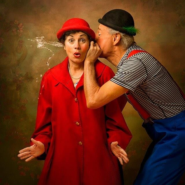 About Us - Over the last 20 years, Tiffany Riley and Dick Monday (Slappy & Monday) have used the power of humor to empower and inspire – building their own brand of comedy rooted in education, performances, and healthcare-focused clowning.