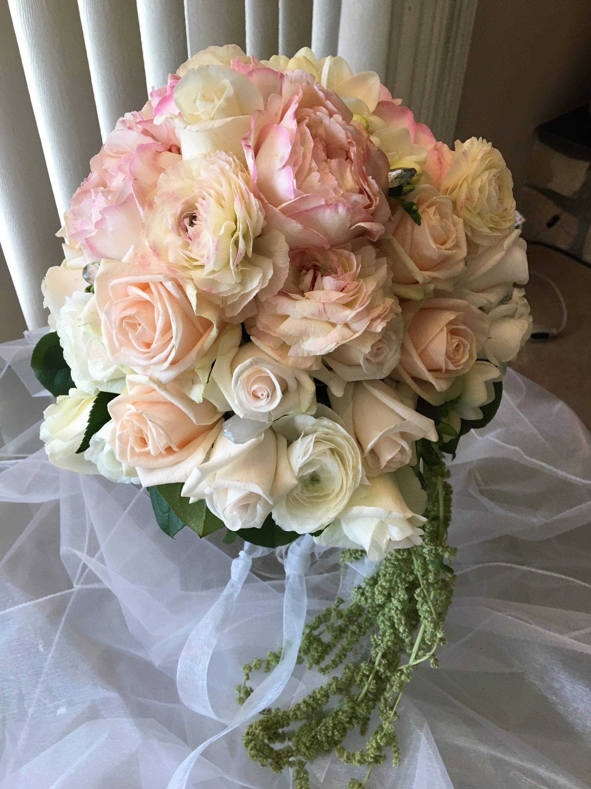Pastel Bridal Bouquet - FLO 500