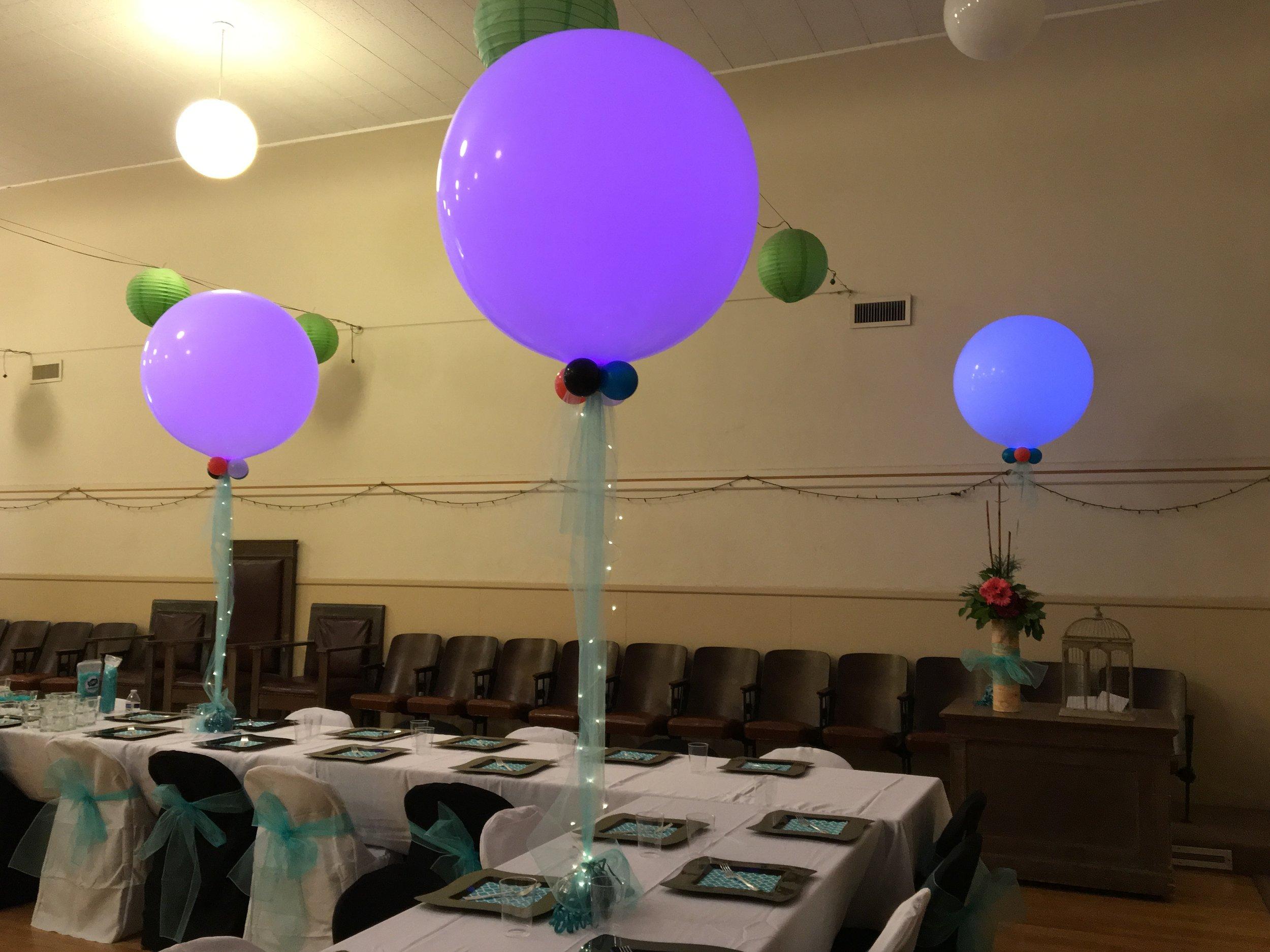 Illuminated 3' Balloons - BAL 019