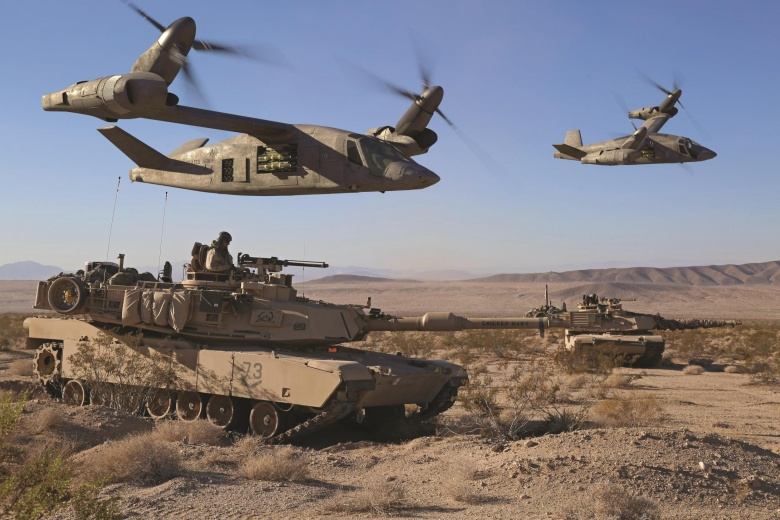 FUTURE VERTICAL LIFT - The Future Vertical Lift (FVL) CFT is developing a new family of next-generation military helicopters for the Army. These new platforms will replace the Army's UH-60 Black Hawk, AH-64 Apache, CH-47 Chinook, and OH-58 Kiowa helicopters.