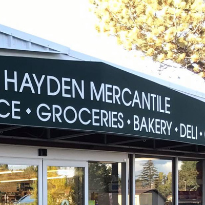 Hayden Mercantile - 111 6th StHayden, Colorado 81639970-276-3922
