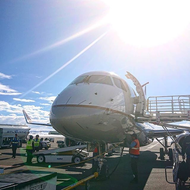 Double tap if you've ever flown through Yampa Valley Regional Airport? No matter the season, you'll want to stop in Hayden, CO during your visit to experience REAL Colorado. . Awesome 📸 @marcctbacani
