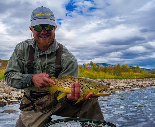 As @el_jefe_pescado said, there's nothing better than holding two fistfuls of Yampa River Brown! Now that's REAL Colorado.