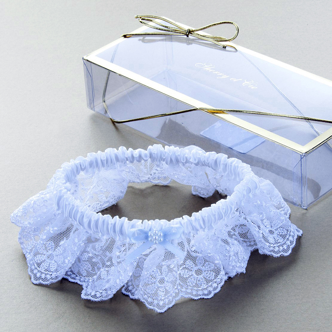 Lace Garter by Sherry Et Tie