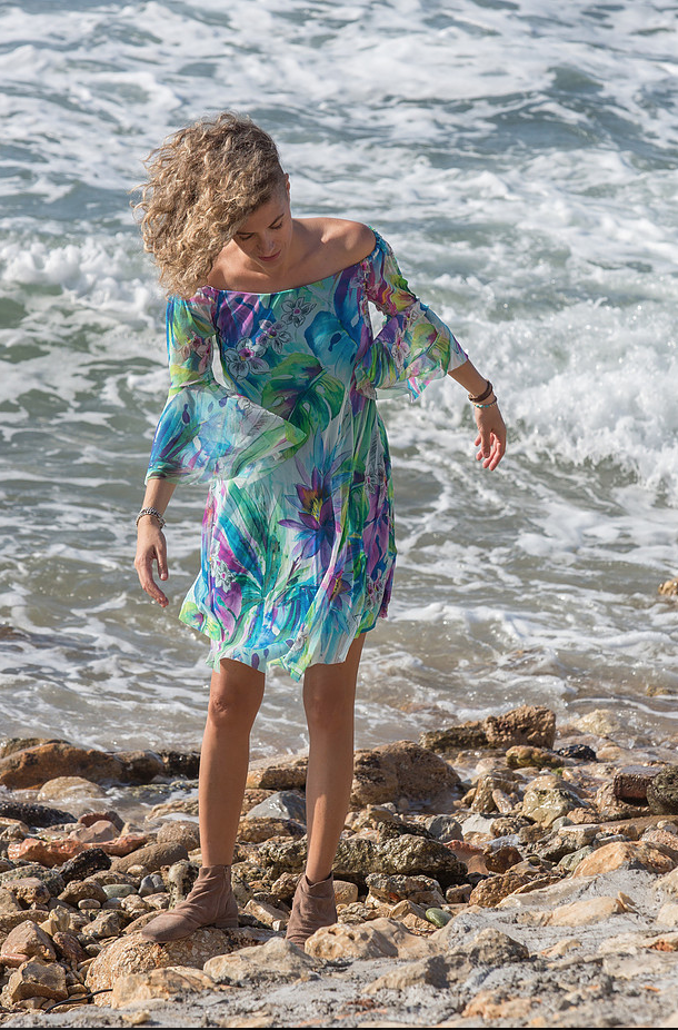 Elana Kattan Short Dress