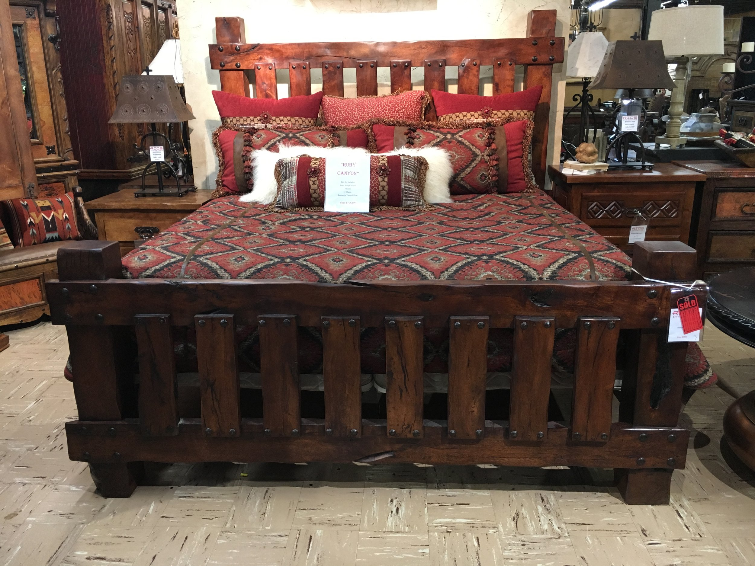 Rios Mesquite King Bed