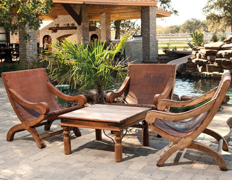 Miguelito Mesquite Chairs