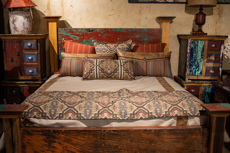 Living Spaces  Furnishings  Bedroom Furniture Stores  Rustic Furniture   Southwestern Furniture — Rios Interiors