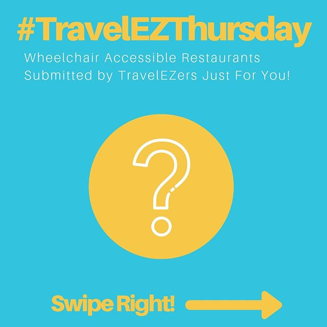 Just SWIPE to see #TravelEZThursday's wheelchair accessible cafe of the week! — Maman | $$ | Cafe | Greenpoint (Brooklyn)  Accessibility: ✅ Wheelchair accessible entry ✅ Spacious interior ✅ Standard tables/chairs ✅ Accessible restroom ✅ Accessible outdoor seating  Description: French inspired cafe and bakery with incredible Nutella-filled doughnuts and cool, rustic vibe. And totally wheelchair accessible of course.