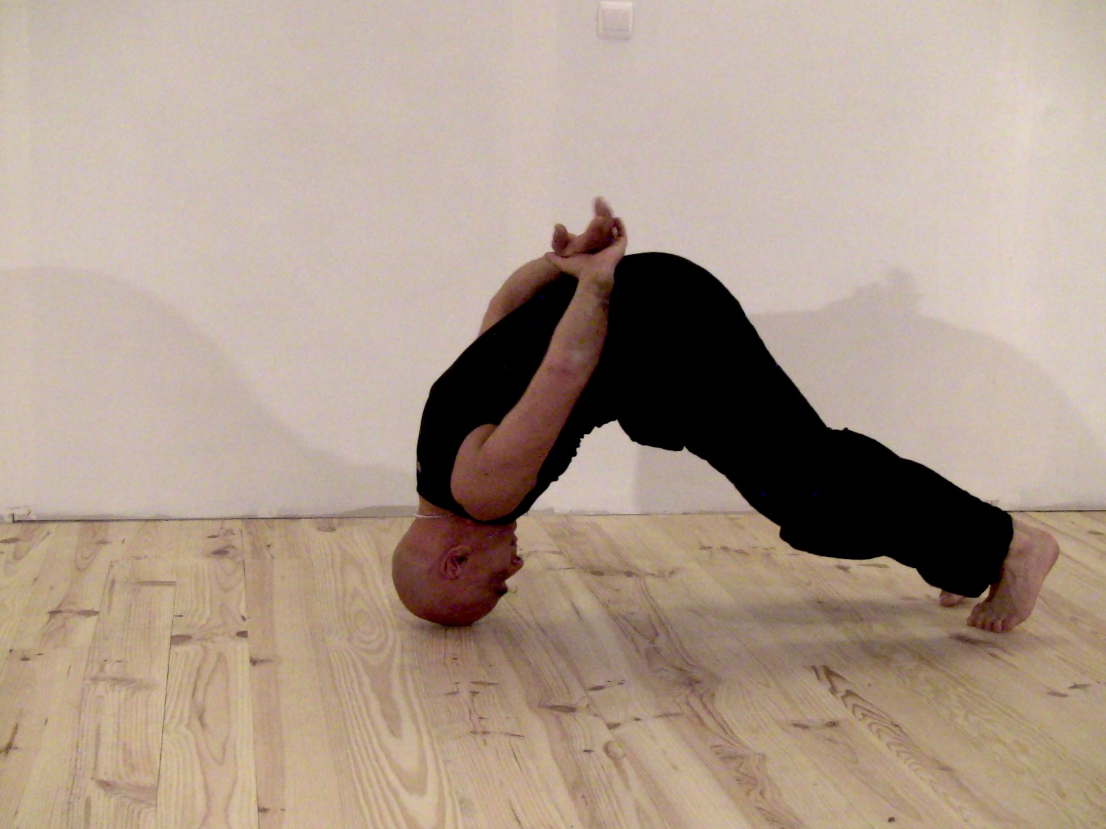 A more challenging posture form the tao yoga series.