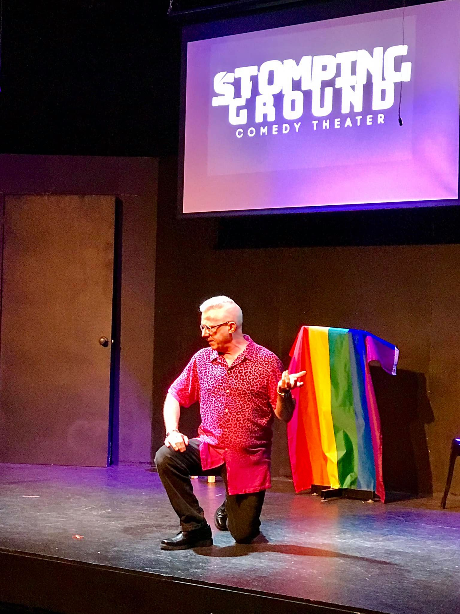 LGBT Story Sharing Session @Stomping Ground Comedy Theater