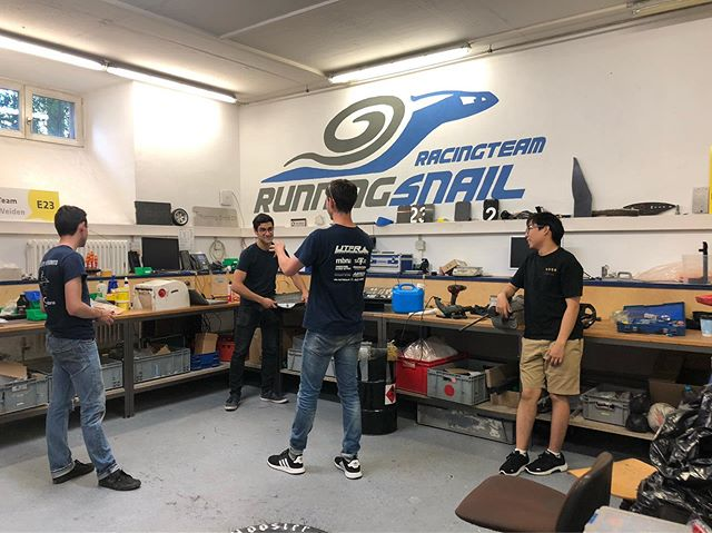 We're back in Amberg getting UT19 ready for @fsczech 2019 🏎 Wishing our friends @runningsnailracingteam best of luck with endurance at @formulastudentgermany today!