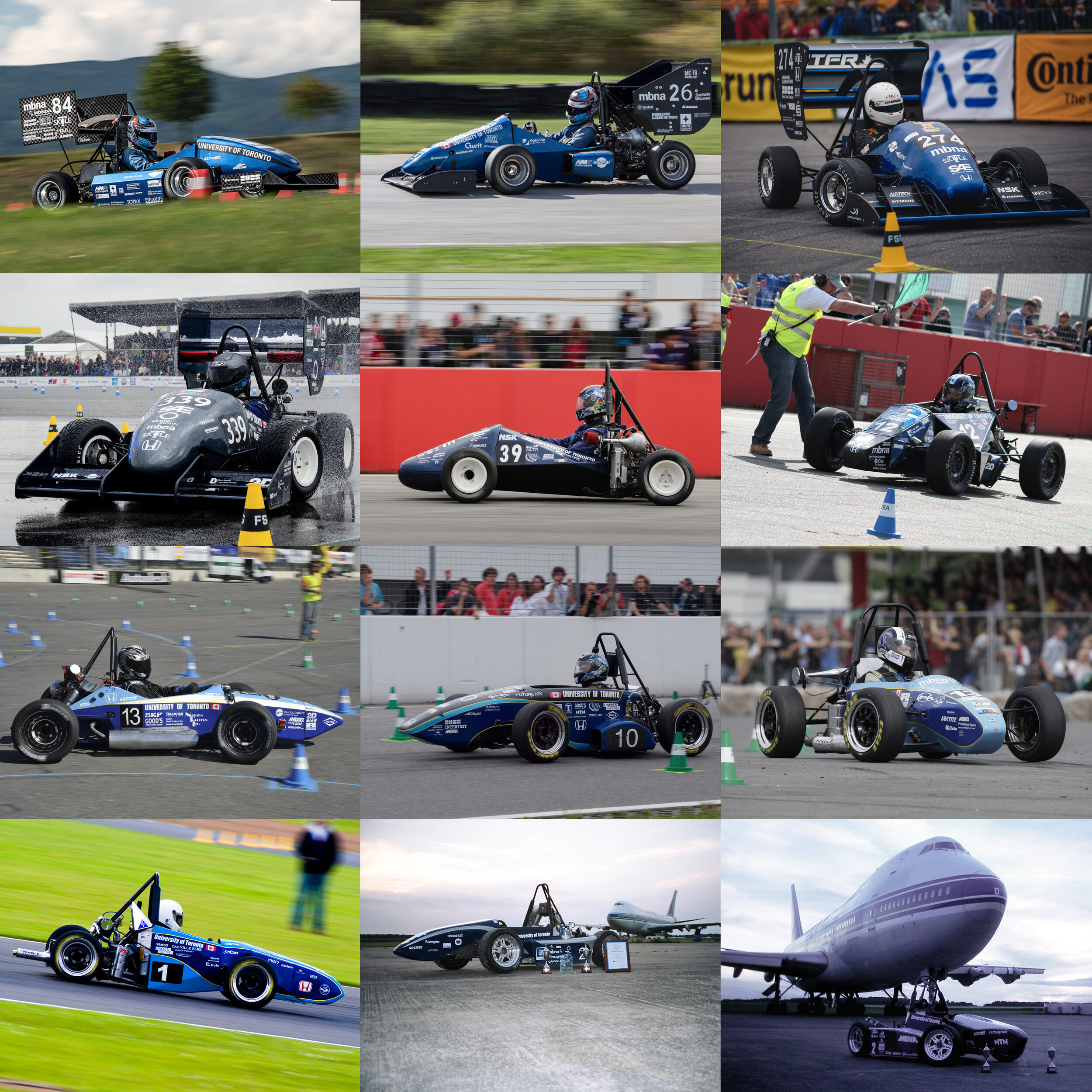 Outstanding pedigree - Celebrating our 22nd year in Formula SAE