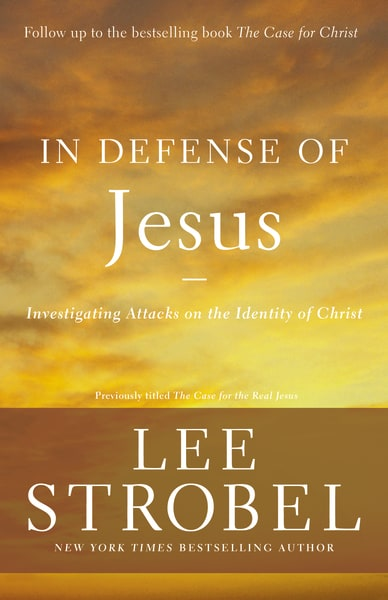 In Defense Of Jesus   Investigating Attacks on the Identity of Jesus   Amazon  /  Barnes & Noble  /  Christian Book