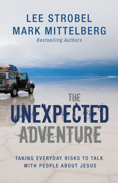 The Unexpected Adventure   Inspiring stories of people taking everyday risks to share their faith.   Amazon  /  Barnes & Noble  /  Christian Book