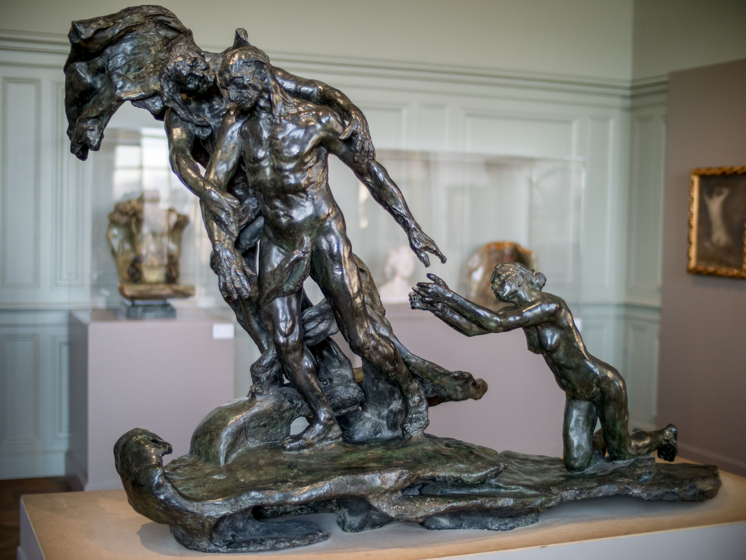 Camille Claudel,  The Age of Maturity  (1913).