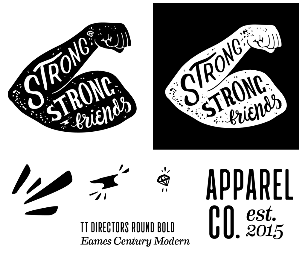 strong strong friends — RYAN CHITWOOD