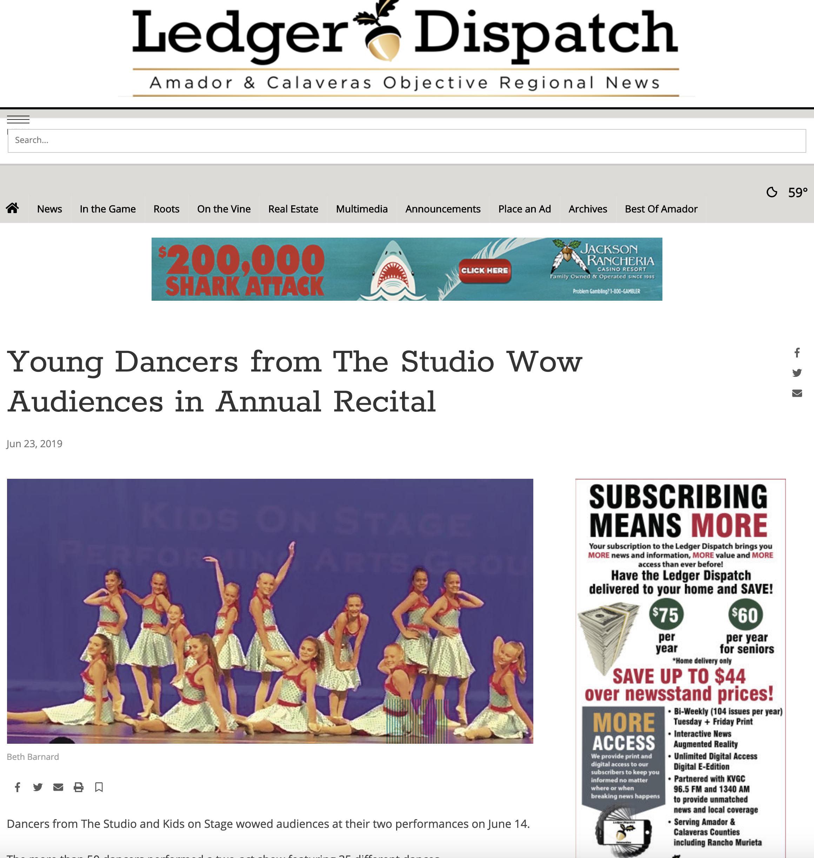 The Studio recital_amador_ledger_dispatch.png
