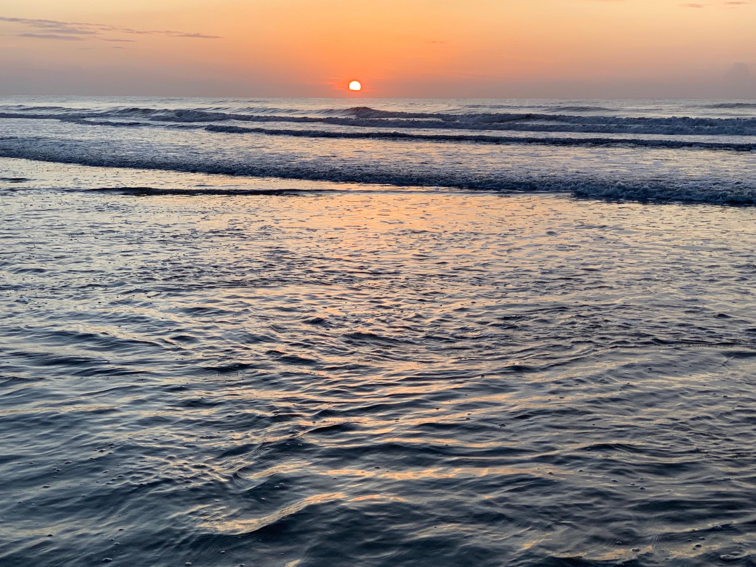 Sunrise on Cumberland Island GA