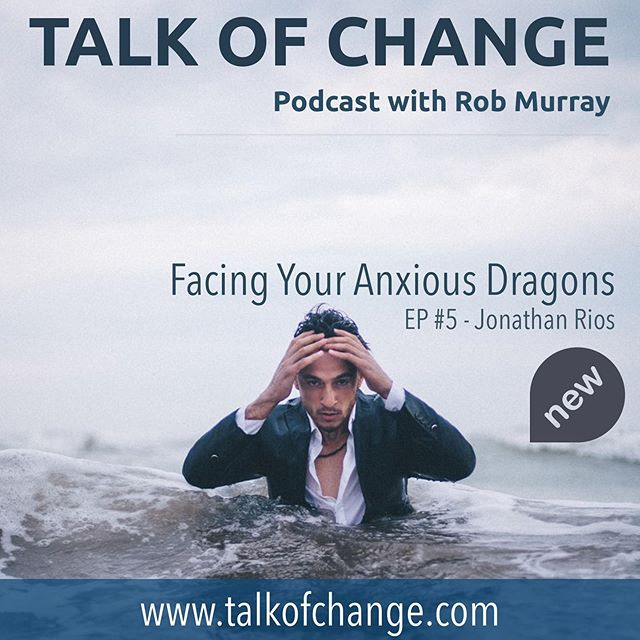 New Podcast Episode is live! Anxiety can often feel like you have a thousand-pound boulder hanging over your head, ready to crush you at any given time. In this episode on the Talk Of Change podcast, Rob chats with Jonathan Rios, focusing on this very relatable topic. We can often fuse who we are with what we do. Threats that challenge this arrangement can produce excessive amounts of fear and anxiety that can shake or cripple us. What could it look like to face your anxious dragons?  Go to iTunes, Spotify or www.talkofchange.com  #change #anxiety #businessleader #transformation #podcast