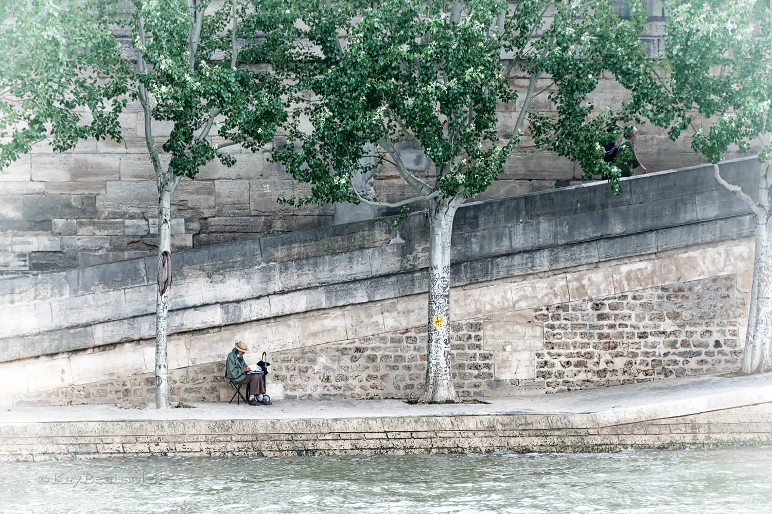 Quiet Time:  STILLNESS BY THE SEINE
